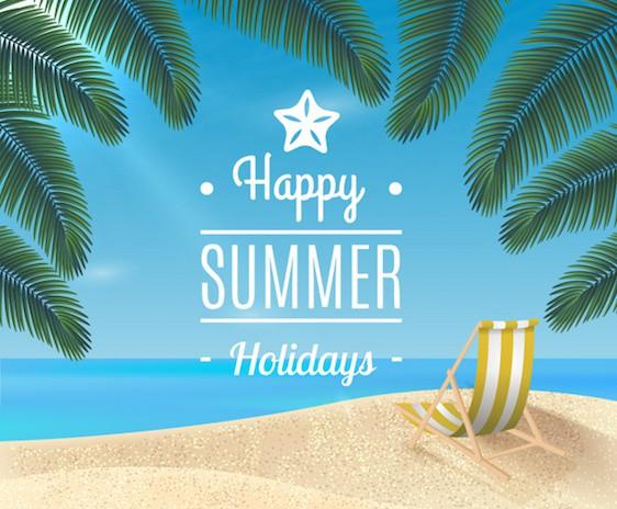 Congés d'été 2018 du Vendredi 20 Juillet au Lundi 6 Aout 2018, les commandes passées sur le site durant cette période seront traitées à partir du mercredi 8 Aout 2018.