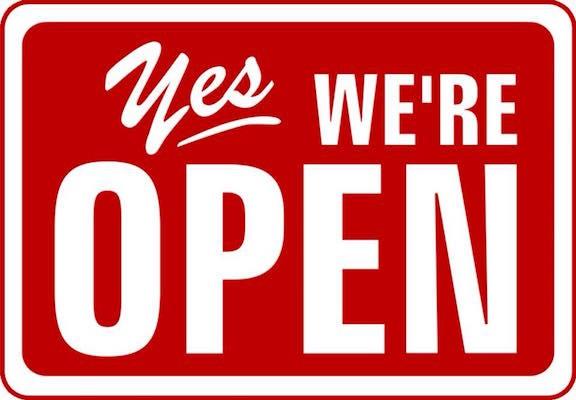 Notre concession reste ouverte et à votre service.